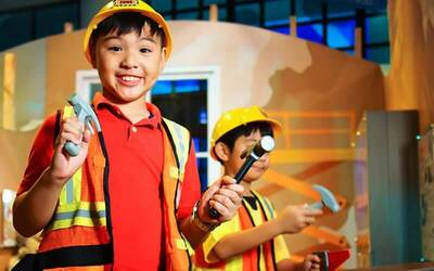 Singapore KidsSTOP™ Admission for 1 Adult