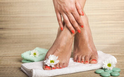 Spa Manicure with Classic Pedicure for 1 Person