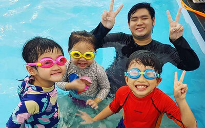 (Mon - Fri) 30-Min Indoor Swim Session for 1 Child