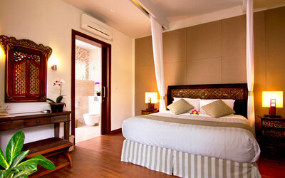 Seminyak: 3D2N in Deluxe Private Pool Villa + Breakfast + 1x Afternoon Tea + One Way Airport Drop