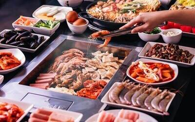 (Mon - Thu) Korean BBQ + Army Stew Dinner Buffet + Coke + Ice-Cream for 1 Adult