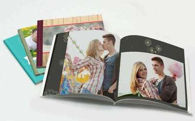 "6"" x 6"" Mini Softcover Square Photobook (48 Pages)"