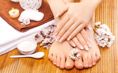 Classic Manicure with O.P.I Spa Pedicure for 1 Person