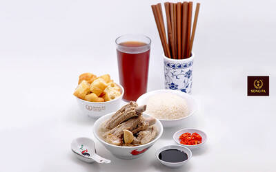 [#GFCulinary] Set Menu Chinese Food for 1 Person