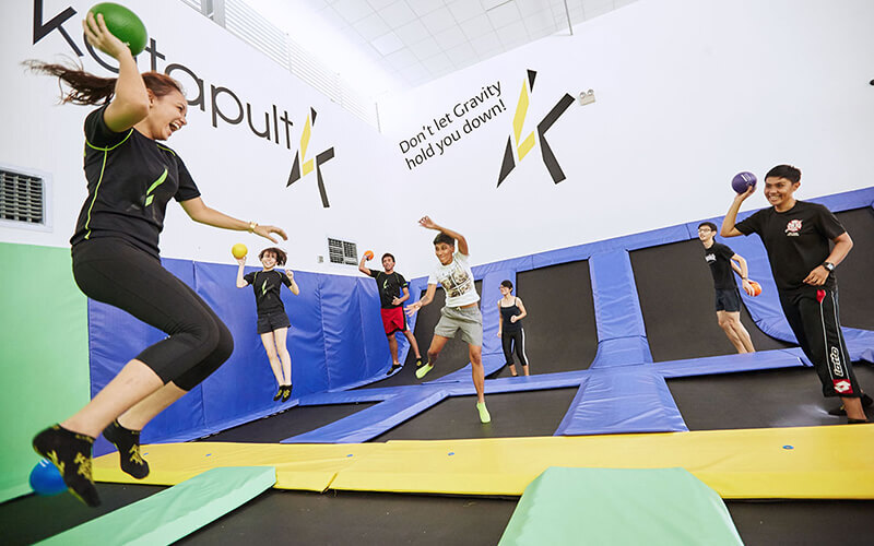(Sat - Sun) 1-Hour Jump Session for 4 People