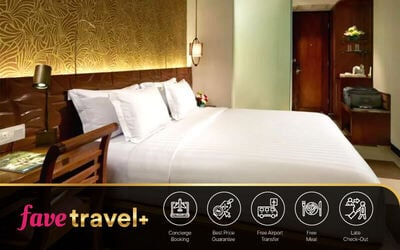 [FAVE Travel+] Legian: 5D4N Stay in Superior Room + Breakfast+ 15 Minute Massage + 1x Dinner/Lunch + 1x Way Drop to Airport