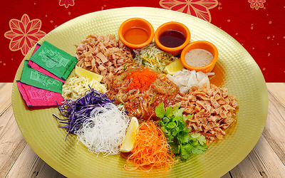 [CNY] Jellyfish Yee Sang for 5 People