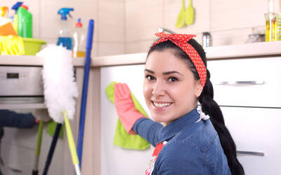 4-Hour Housekeeping Services with One (1) Cleaner for 1 House