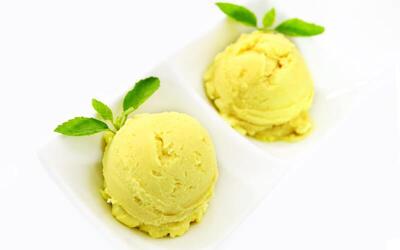 One (1) Carton (24 Cups) of Premium Gelato Ice Cream (Macadamia / Durian)