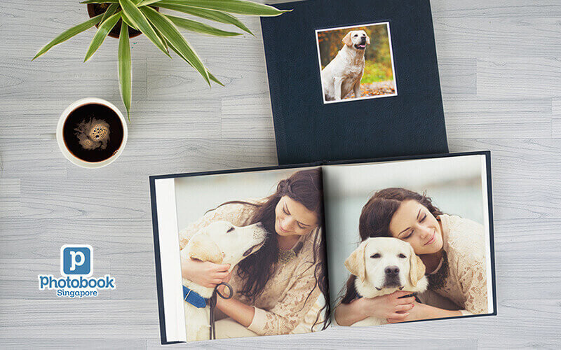 "8"" x 8"" Small Square Debossed Hardcover Photobook (40 Pages)"