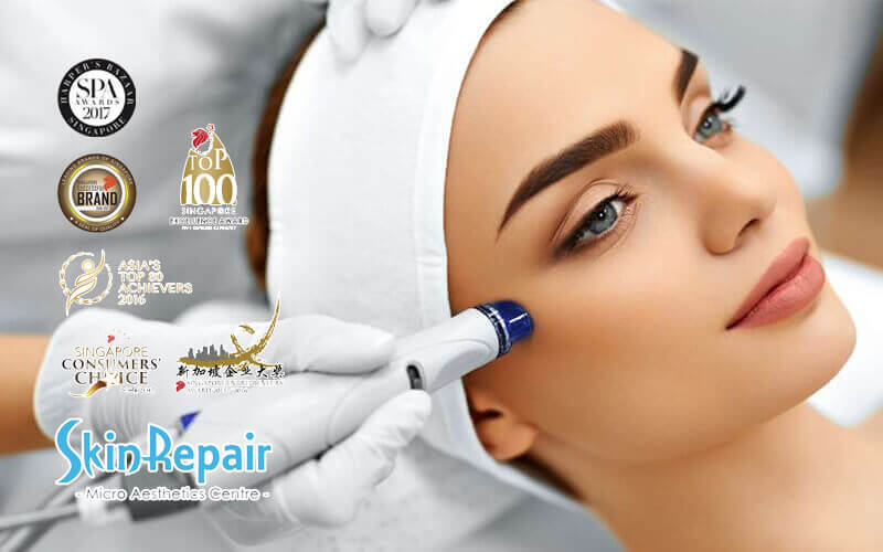 1-Hour SHR Laser Crystal Dew Facial + Stem Cell Mask for 1 Person (1 Session)