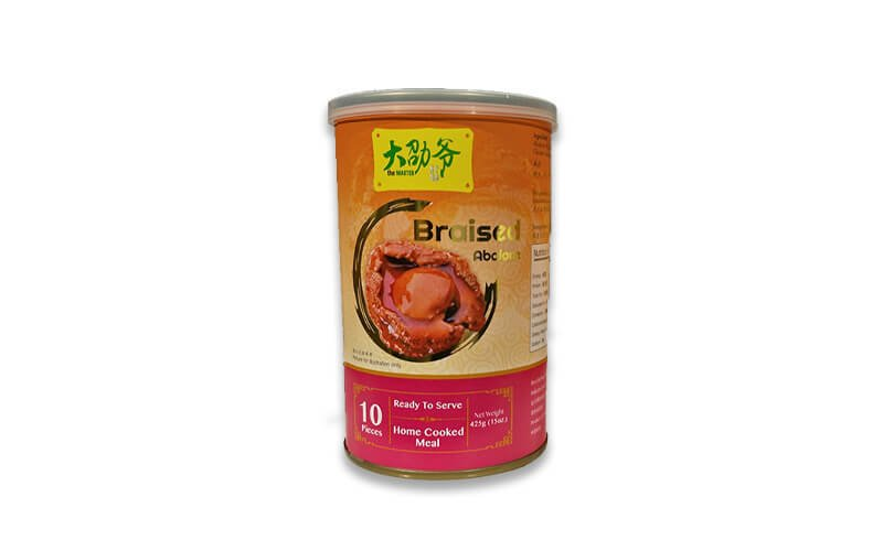 One (1) Can of Braised Abalone (425g)