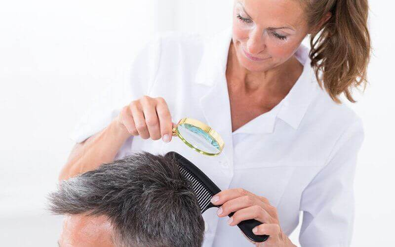 Traditional Hair Fall and Gray Hair Scalp Treatment for 1 Person