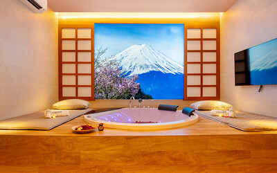 2-Hour Luxury VIP Suite Spa with Full Body Aromatherapy Massage and Scrub 2 People
