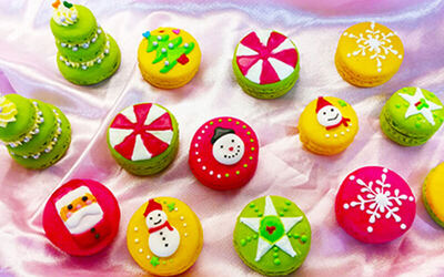 2.5-Hour Christmas Macaron Making Workshop for 1 Person