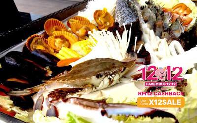 [12.12] Thai Tom Yum / Mala Seafood Lava 4 - 6 People