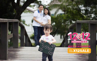 [12.12] 1-Hour Outdoor Professional Family Photoshoot for Up to 6 People