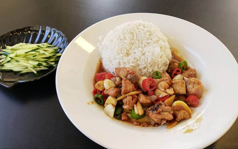 Chinese Cuisine Lunch Set for 1 Person