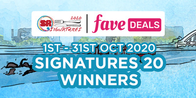 Singapore River One: Signatures 20 Winners