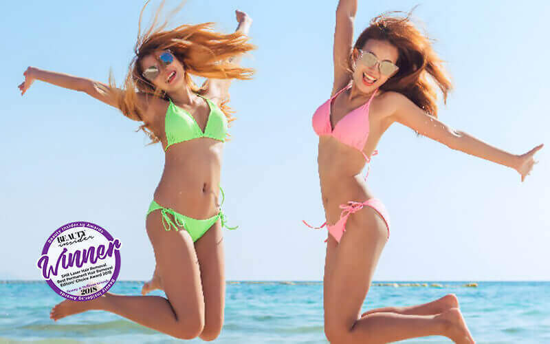 September Exclusive Promo: Underarm SHR Laser Hair Removal (12 Sessions) + One (1) Brightening Peel Treatment for 1 Person
