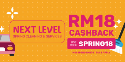 [Fave-Nomenal CNY] Next Level Spring Cleaning & Regular Services