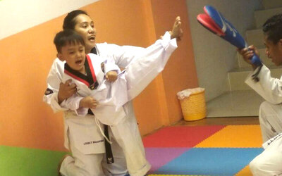 Voucher Value Senilai Rp.100.000 Taekwondo Class (4 sessions / month) For New Member Only