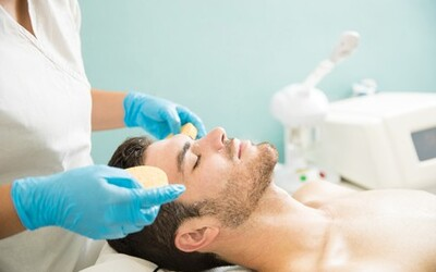 105-Minute Men's Hydro Crystal Facial for 1 Person