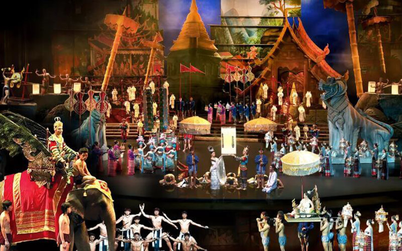 Phuket: Admission to Niramit Show (Gold) for 1 Person