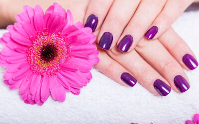 Kuchai: Classic or Gel Nail Services / Waxing Services for 1 Person
