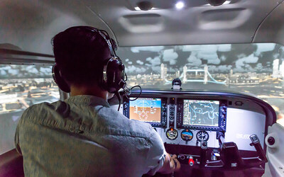 1-Hour Aviation Flying Experience for 2 People