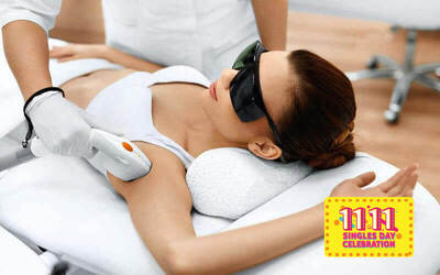[11.11] OPT E-Light Hair Removal for Small Area for 1 Person