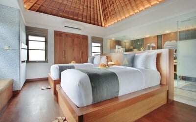 Sanur: 4D3N Two Bedroom Pool Villa + Breakfast + Welcome Massage + Afternoon Tea (for 4)