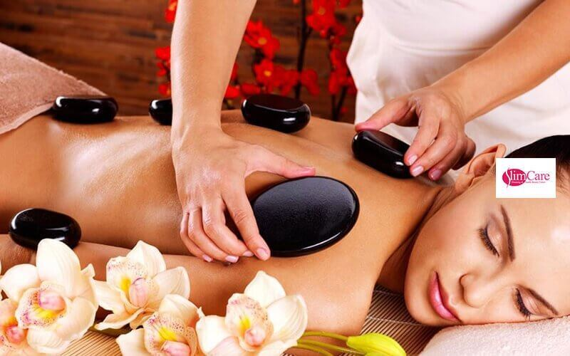 3x Hot Stone + Aromatherapy + Body Massage + Face Acupressure + Body Moisturizer + Ginger Tea
