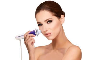 Facial Derma Wand + Soft Peeling + Massage + Ozone + Masker