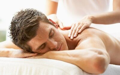 2-Hour Men's Facial with Full Body Shiatsu Massage for 1 Person