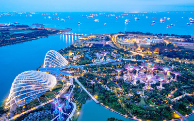 Adult Ticket to Garden By The Bay and Marina bay Skypark for 1