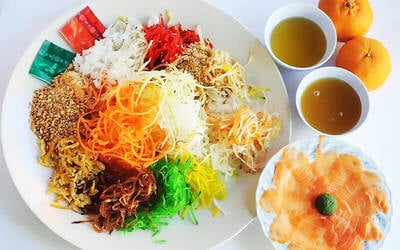 [CNY] Chinese New Year Yu Sheng for 10 People (Takeaway)