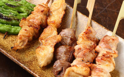 Yakitori Set Meal for 1 Person