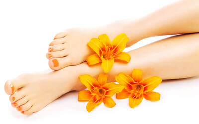 Deluxe Pedicure + Callus Removal for 1 Person