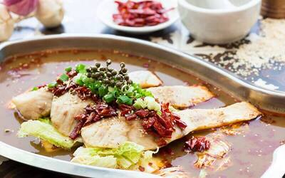 Sichuan Grilled Fish and Mud Crab Set for 4 People