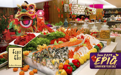 [Epig 2019] Grand Mercure Roxy Hotel: Chinese New Year Buffet Lunch for 1 Adult