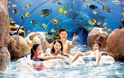 Singapore: One Day To Adventure Cove Waterpark (Adult)