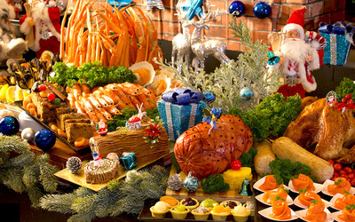 Christmas or New Year's Eve Buffet