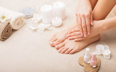 Early Bird: Spa Classic Manicure and Spa Pedicure for 1 Person