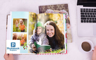 "8"" x 11"" Medium Portrait Imagewrap Hardcover Photobook (40 pages)"