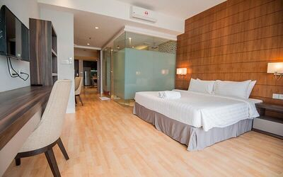 Kuala Lumpur: 2D1N Stay in 1 Bedroom Suite at D'Majestic Place by Widebed for 2 People