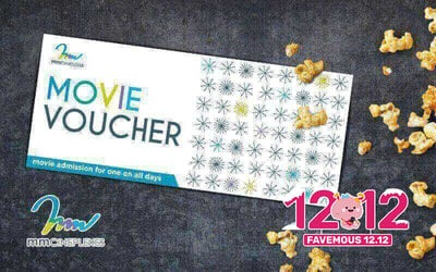 [12.12] mmCineplexes: Two (2) Movie Vouchers for Any Movie