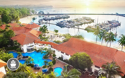 Batam: 2D1N Stay in Deluxe Garden-View Room + Tax-Inclusive Return Ferry for 1 Person (Min. 2 to Go)