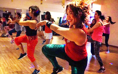 Four (4) 1-Hour Fitness / Zumba / Yoga Classes for 2 People