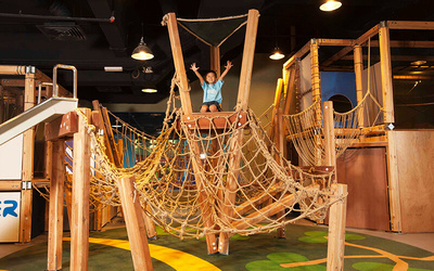 (Sat and Sun) Admission to Adventure Maze in Young Explorer Kids Gym for 1 Child
